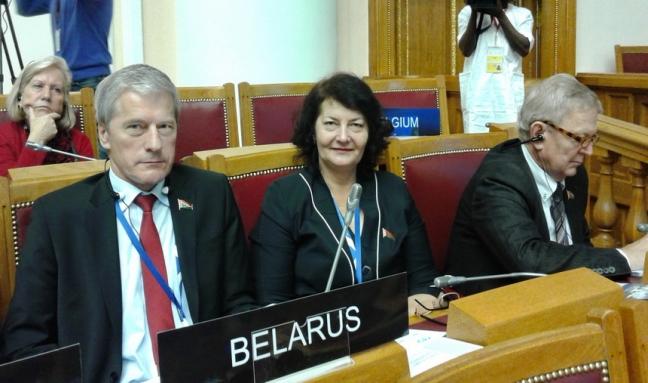 137-я Ассамблея Межпарламентского союза в г. Санкт-Петербурге, 15 октября 2017 года